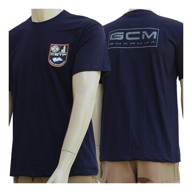 a9b03a7f96 Camiseta GCM Guarujá CETP - Militar Brasil - artigos militares ...