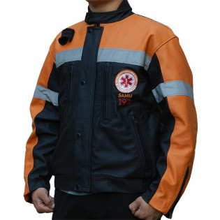 Jaqueta de Couro Samu