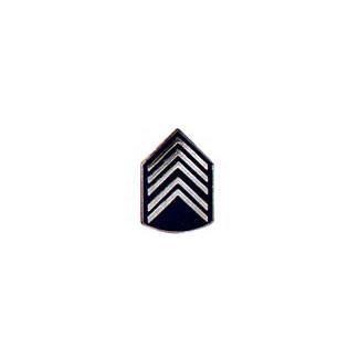 Dvisa de Gola Metal 1º Sargento PM