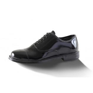 Sapato Social 727 Inglês Box Verniz - Preto