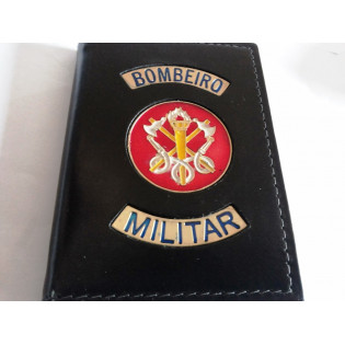 Porta Funcional Policia Militar Bombeiro Preta
