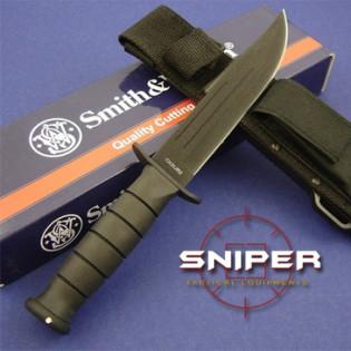 Faca Smith & Wesson Rescue Lamina - Preta