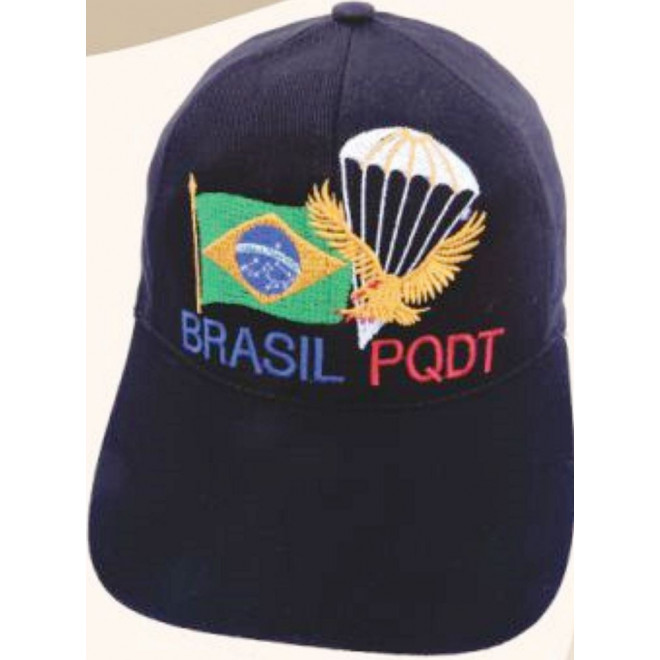Boné Brasil PQDT - Militar Brasil - artigos militares ebdca4d78f0ec