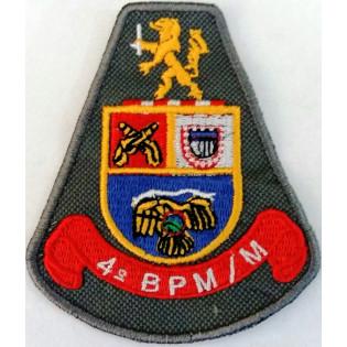 Brasão bordado 4º BPM/M