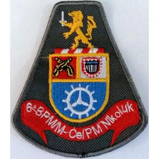 Brasão bordado 6 BPM/M CEL/PM NIK