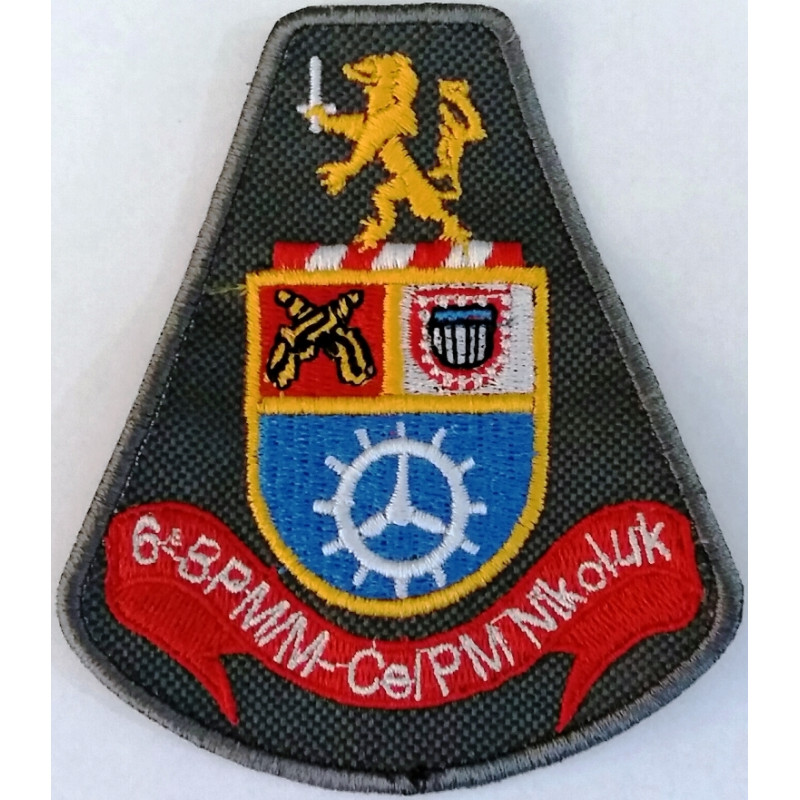 bras227o bordado 6 bpmm celpm nik militar brasil
