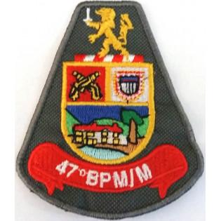 Brasão bordado 47º BPM/M