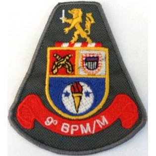 Brasão bordado 9º BPM/M