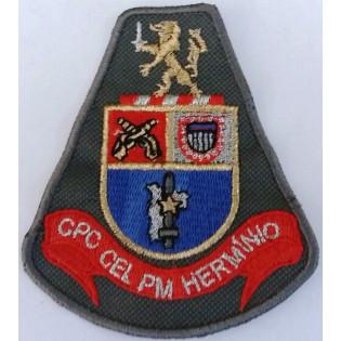 Brasão bordado CPC CEL PM HERMINIO