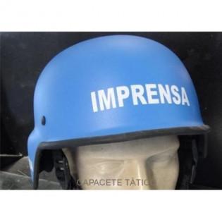Capacete Tatico M-88 Imprensa