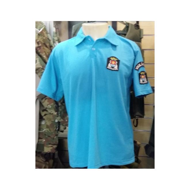 Camisa Polo Vigilante GCM Guarujá - Azul