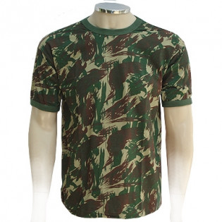 Camiseta Manga Curta Infantil - Camo Exército