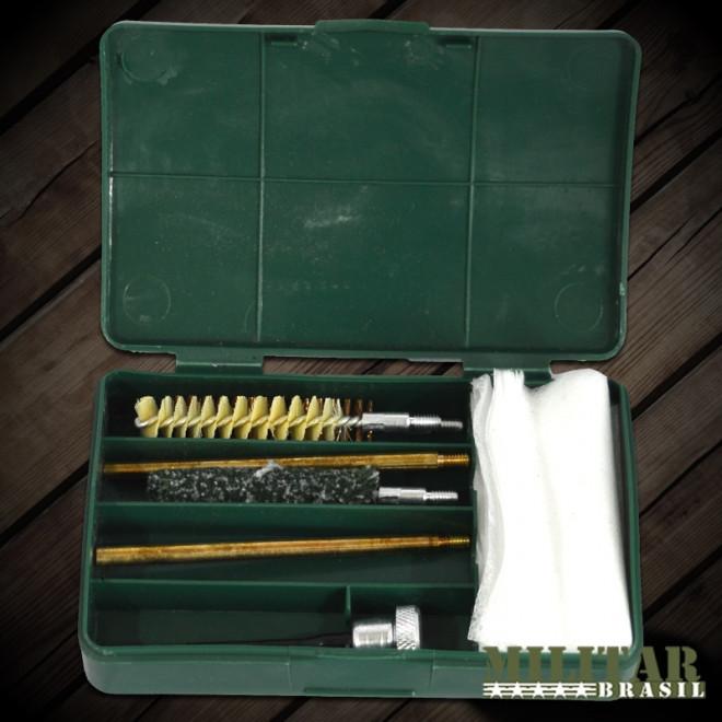 Kit De Limpeza P/ Arma Curta .40/380/38