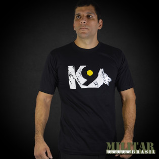Camiseta Estampada K-9