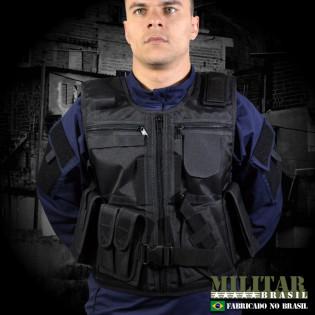Colete Tatico Escolta Armada - Preto