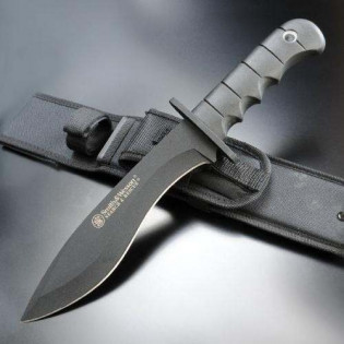 Faca Smith & Wesson - Search & Rescue - Cksur 7 Lamina - Preta