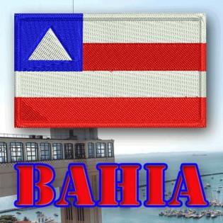 Bordado Bandeira Bahia