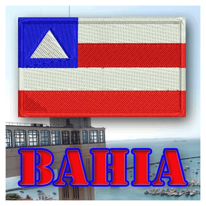 1f7868ed5f Bordado Bandeira Bahia - Militar Brasil - artigos militares ...