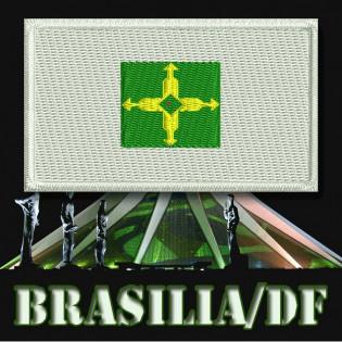 Bordado Bandeira Distrito Federal