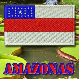 Bordado Bandeira Amazonas