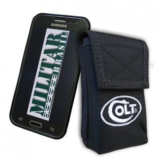 Porta Smartphone Tático Colt c/ Gancho - Preto