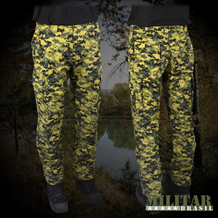 Calça MB 1982 Camo Digital Woodland