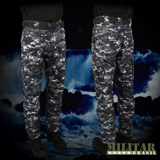 Calça MB 1982 - Camo Navy Digital