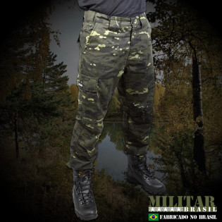 Calça MB 1982 - Camo Multicam Black