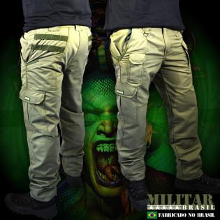 Calça Militar Brasil Górgona - Verde
