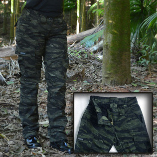 Calça Feminina MB 1982 - Camo Tiger Jungle