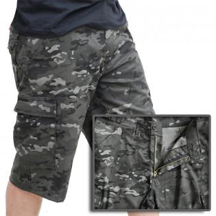 Bermuda 6 bolsos Confort - Camo Multicam Black 2