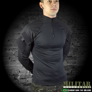 Combat Shirt ACU G2 Nyco Preto