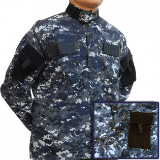 Gandola Uniforme ACU - Camo Navy Digital
