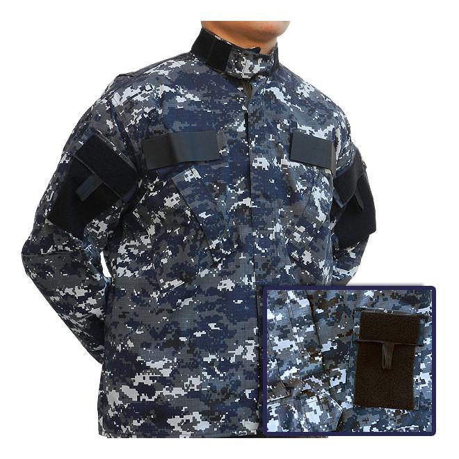 Gandola Uniforme ACU Camo Navy Digital