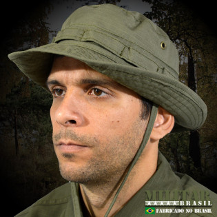 Chapéu Selva Modelo USA Verde