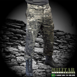 Calça MB 1982 Camo Multicam Black