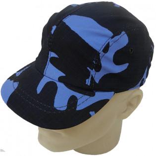 Boné Militar T-1 - Camo Woodland Azul