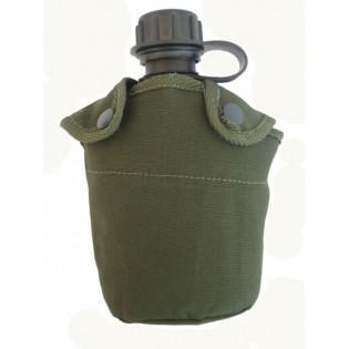 Porta Cantil Militar Simples - Verde - não acompanha o cantil