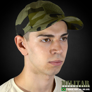 Bone Militar T-3 - Camo Woodland Green