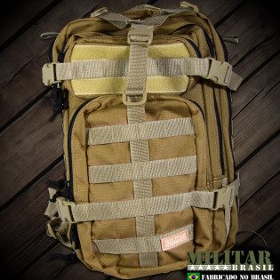Mochila Militar Brasil Assault 30 Litros - Caqui/TAN