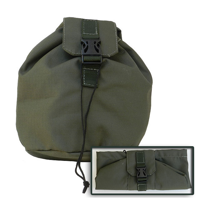 Porta Mascara T2 Linha MOLLE - Verde