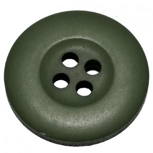 Botão de Massa 4 furos - Verde