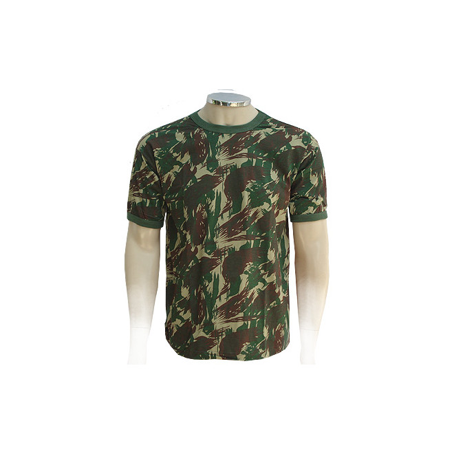 Camiseta Militar Manga Curta - Camo Exército Brasileiro