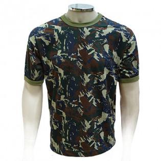 Camiseta Militar Manga Curta - Camo Aeronáutica