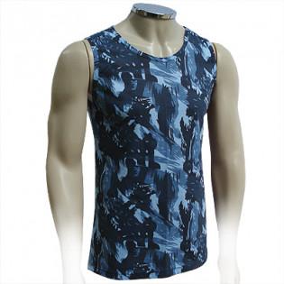 Camiseta Regata Malha Fria - Cam. Exército Azul