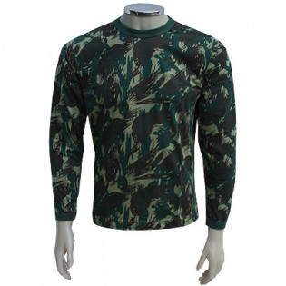 Camiseta Manga Longa - Camo Exército