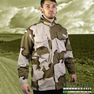 Japona M-65 Field Jacket - Camo Desert Tri-Color