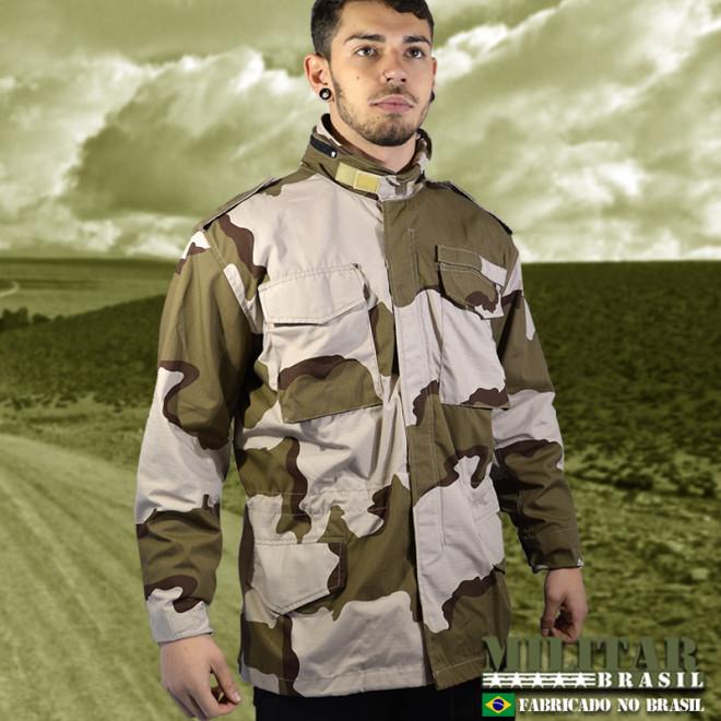 Japona M-65 Field Jacket - Camo Desert Tri-Color