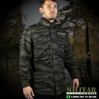 Japona M-65 Field Jacket - Camo Tiger Jungle