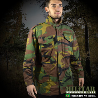 Japona M-65 Field Jacket - Camo Woodland